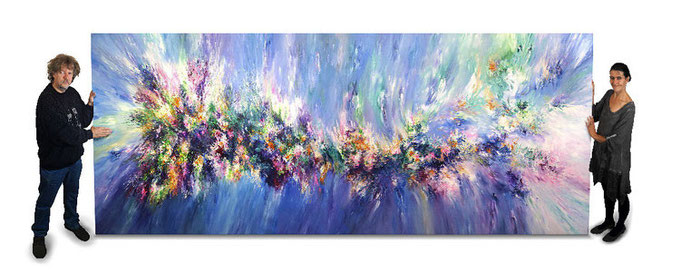 abstract art painting, big size