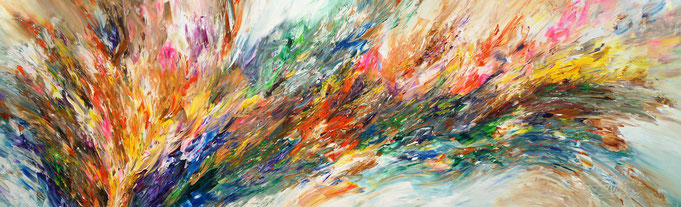 abstract original. colorful painting