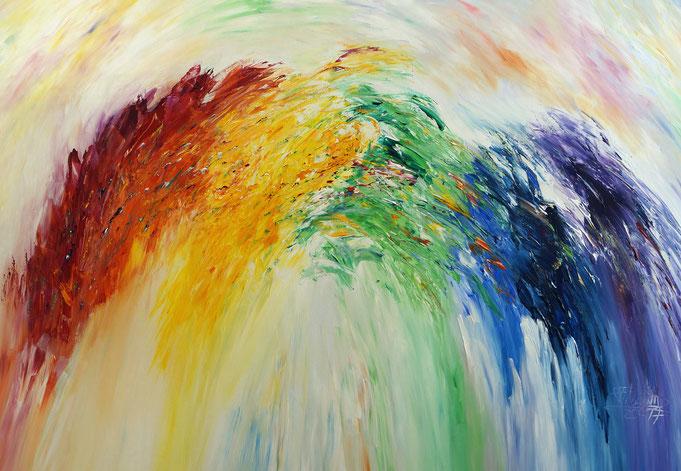 rainbow painting