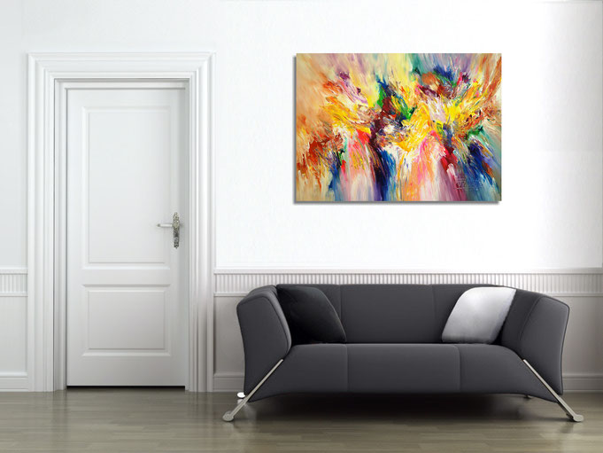 Brighten up any room with a colorful and energetic picture from Peter Nottrott