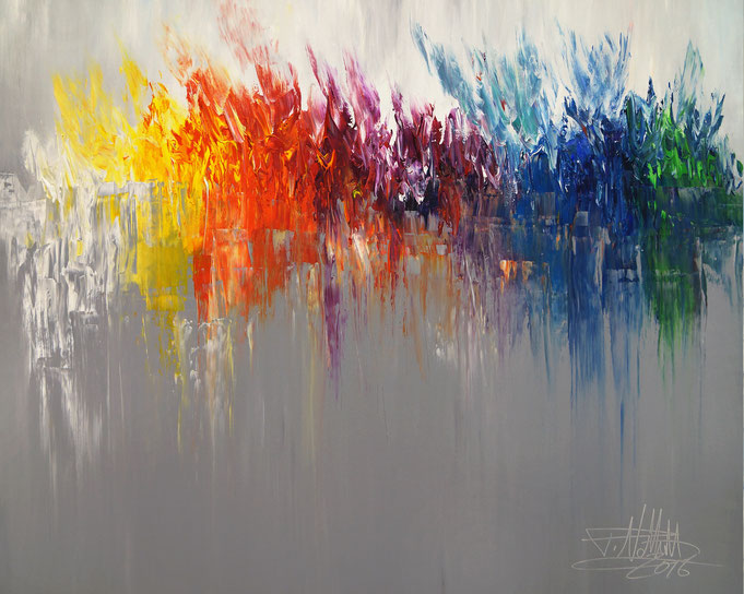 Modern art by Peter Nottrott: painting