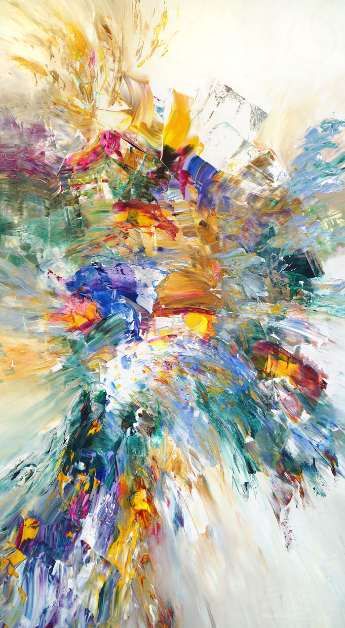 large abstract paintings