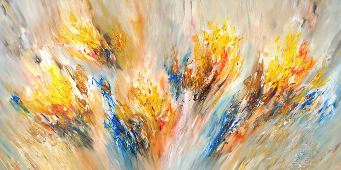 abstract large painting