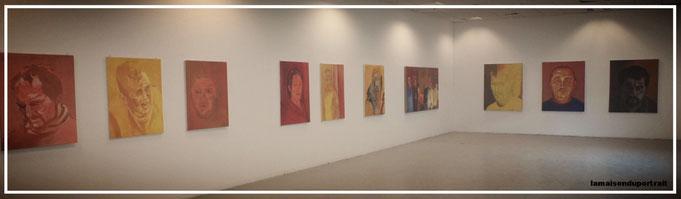 exposition de portrait grands formats