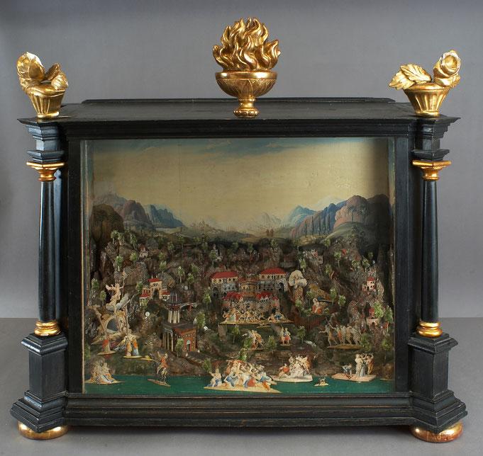 Fastenkrippe, Innsbruck, 2. Hälfte 18. Jh - Fotonachweis Tiroler Landesmuseen/Volkskunstmusem