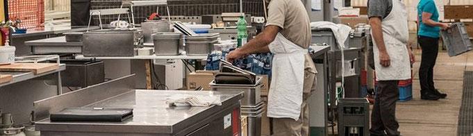 Festküche, Personal in der Küche, Küche, Koch