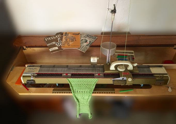 Passap Automatic Strickmaschine