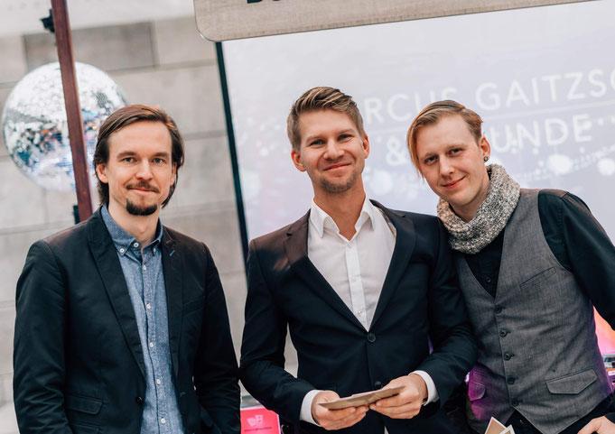 DJ Foto Marcus Gaitzsch, DJ Nicolai Czemplik und DJ Enrico