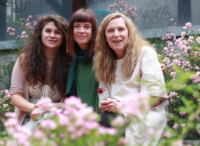 Birgit und Marietta, Betreuerinnen der Spatzenbande