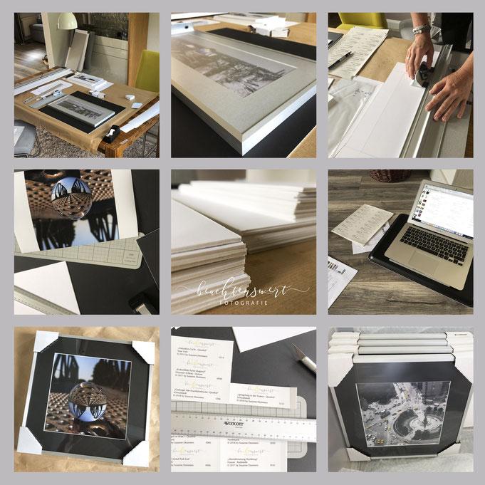Fotokunst, beachtenswert fotografie, Rahmung, Bilder kaufen, Susanne Schuran, Passepartouts, Landschaft, Passepartouts herstellen, Handarbeit