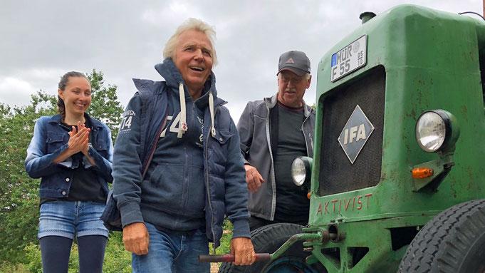 Muck wird Aktivist bei treckerausflug.de