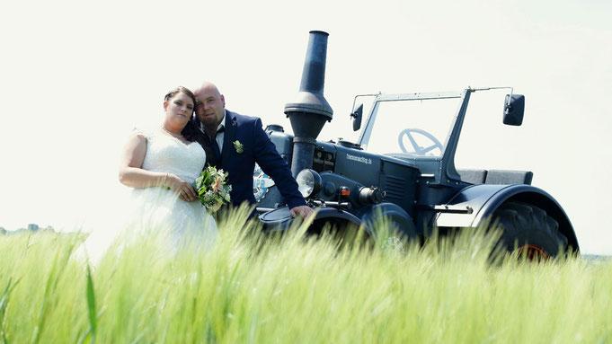 Hochzeits-Trecker PAMPA T01