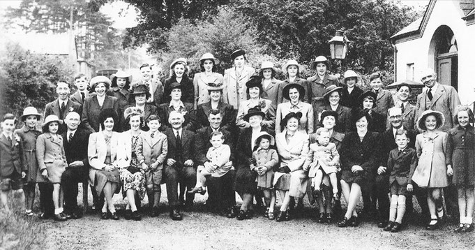 Sunday School and Choir in 1948