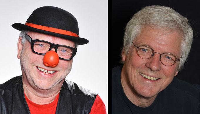 v.l. Willibert Pauels (©Michael Schopps) und Okko Herlyn (©www.okkoherlyn.de)