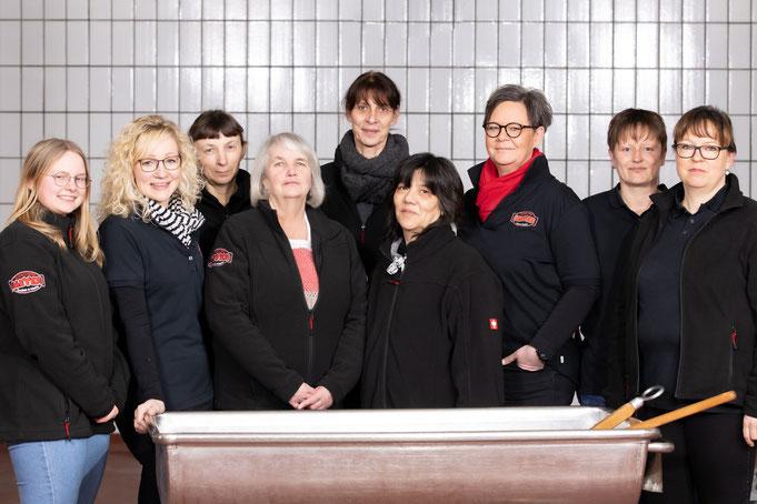 Unser Küchen- und Hygieneteam 2020