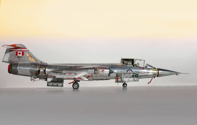 "MWP Project ""Starfighter"" : Lockheed/Canadair CF 104 G - Italeri kit 1/32 scale model"