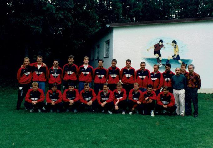 Vizemeister 94/95 der C-Klasse Neuburg und Aufsteiger in die B-Klasse Neuburg