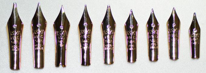Aska-Federn mit Original-Imprint