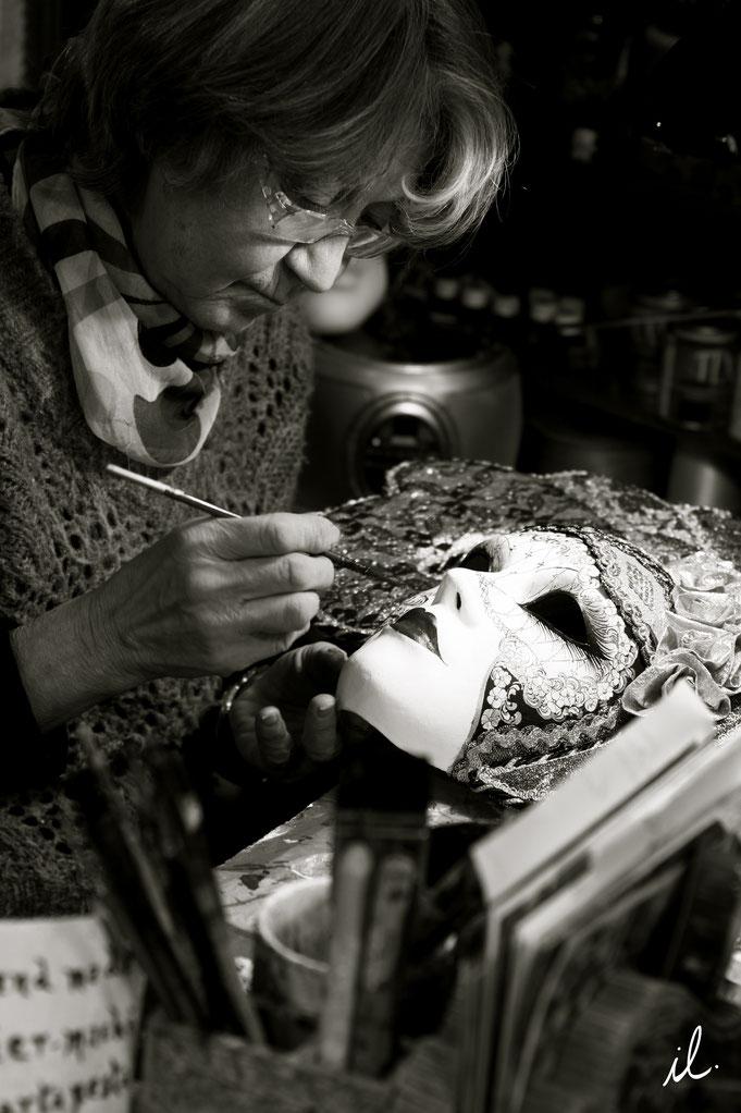 Peinture masque Venise