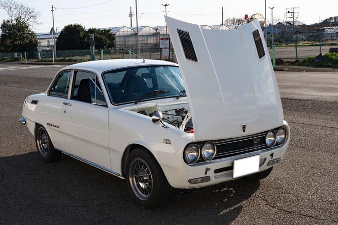 レストア:いすゞ ベレットGT(PR95)