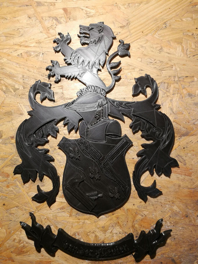 Wappen 3D Druck