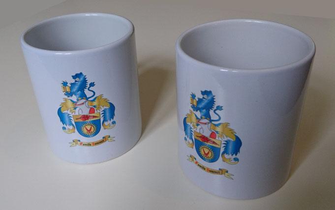 Tasse mit Wappen bedruckt