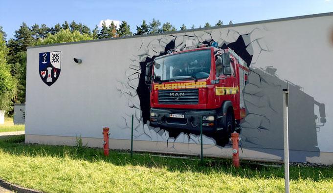 Fassadenmalerei Thüringen