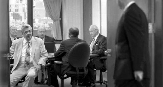 Члены Руководящего совета собираются в своём кабинете