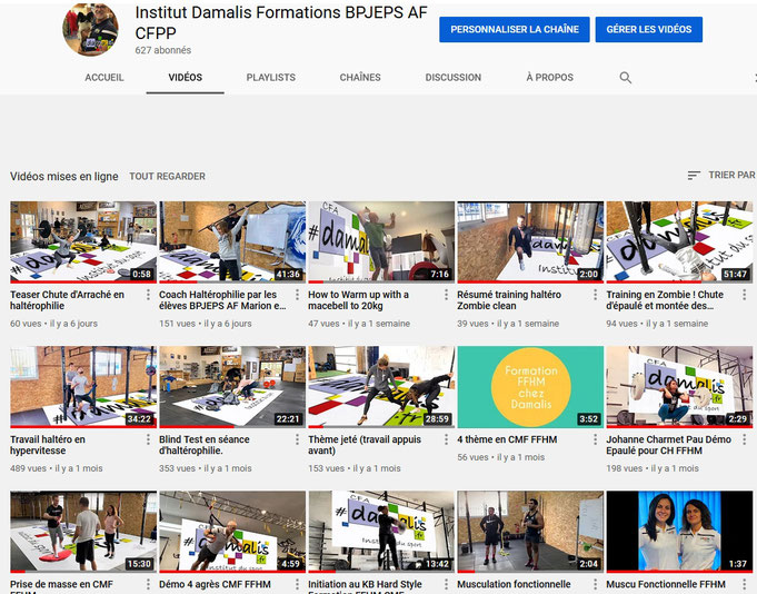 image de la chaine YouTube Damalis