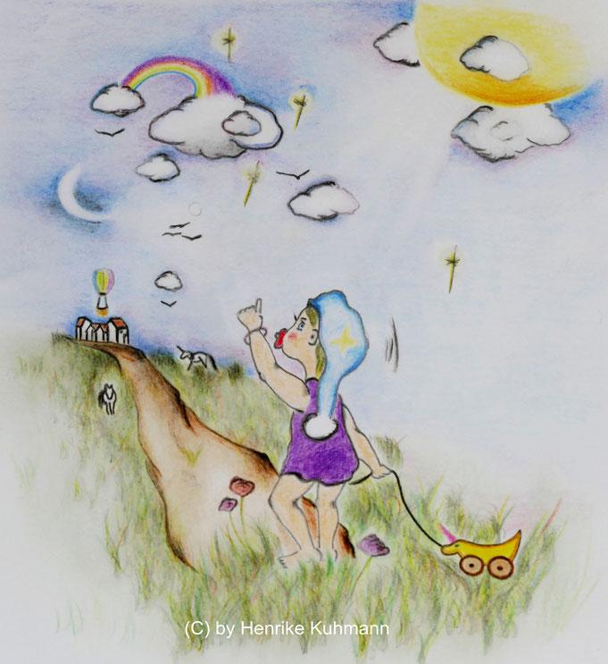 Illustration für Bilderbuch, Zeichnung