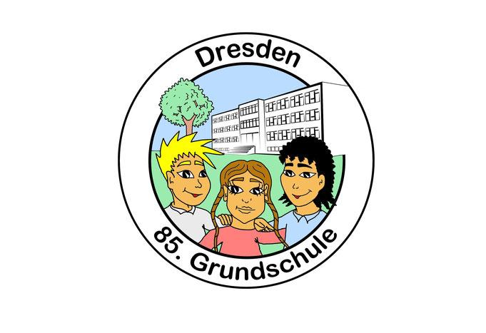 Cartoon Logo Schule zeichnen lassen