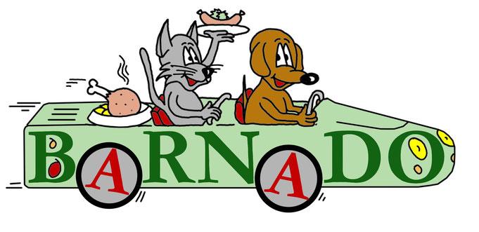 Logo als Karikatur