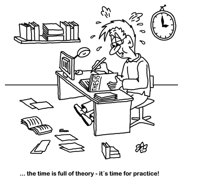 Karikatur Therorie und Praxis