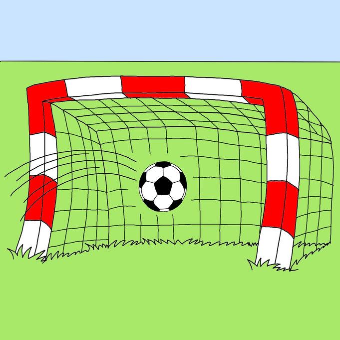 Fußball WM, EM Karikatur zeichnen lassen