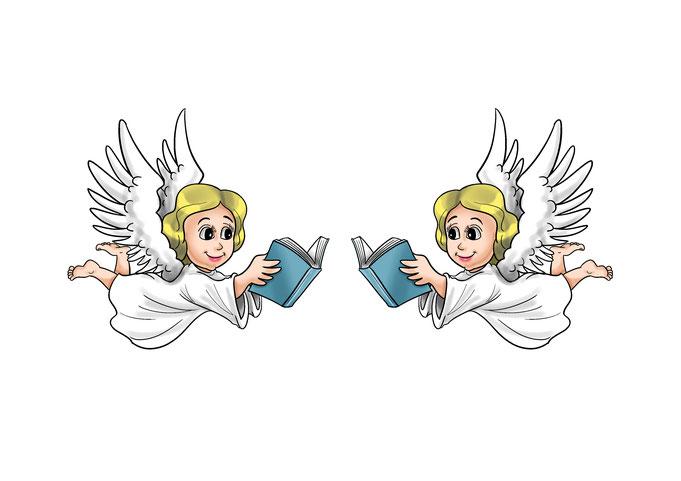 Cartoon für Author Buchmesse