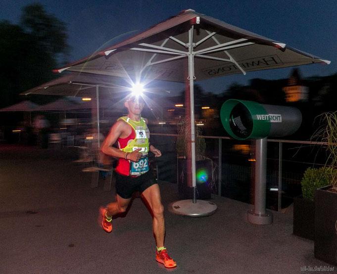 Steffen gewann den AÜW Iller-Trail von Immenstadt nach Kempten überlegen mit fünf Minuten Vorsprung (Foto: all-in.de/bilder)