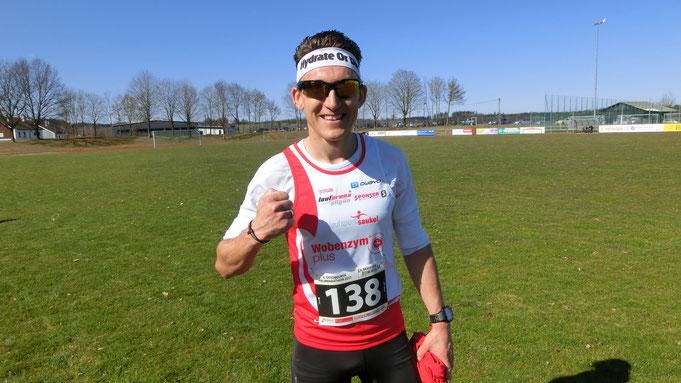 Steffen freut sich über den erfolgreichen Saisonauftakt in Ottobeuren
