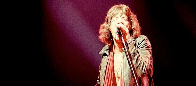 Mick Jagger in den 1970er-Jahren (Foto: Dina Regine,  Lizenz: CC-BY-SA 2.0)