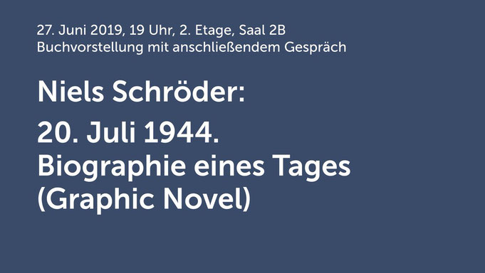 """Buchvorstellung von """"20. Juli 1944. Biographie eines Tages"""" von Niels_Schröder in der Gedenkstätte Deutscher Widerstand in Berlin. Moderiert wird die Veranstaltung von Peter Liebers und Robert Zagolla, vom be.bra Verlag Berlin."""