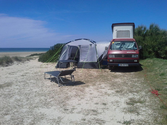 Campingplatz in Portbail