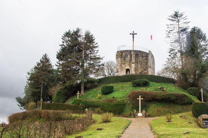 Plessis-Lastelle, Donjon, Normandie, Manche, Cotentin