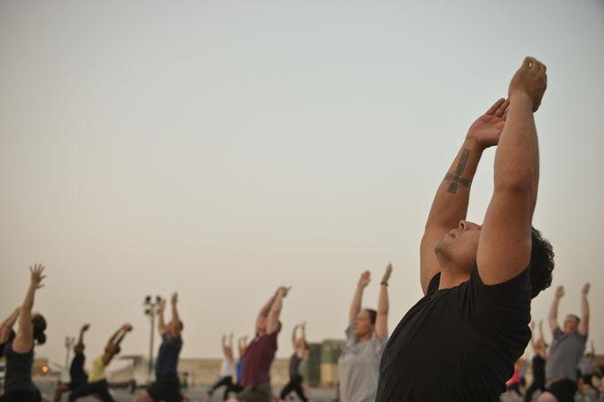 Yoga exklusiv für Männer