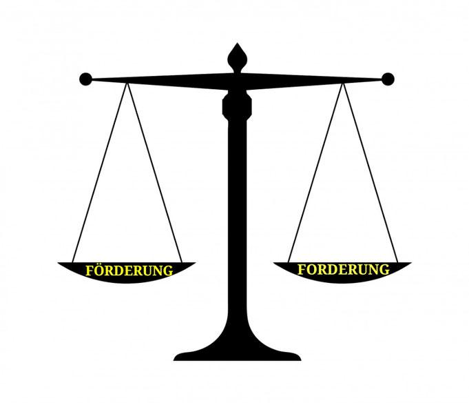 Fördern Fordern Balance
