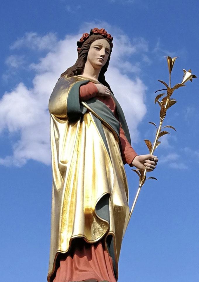 Statue aus dem Madonnenländchen