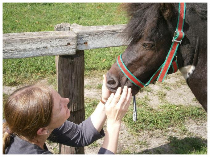 Katja mit Pony