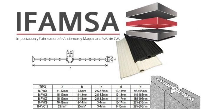 BANDA DE PVC IFAMSA