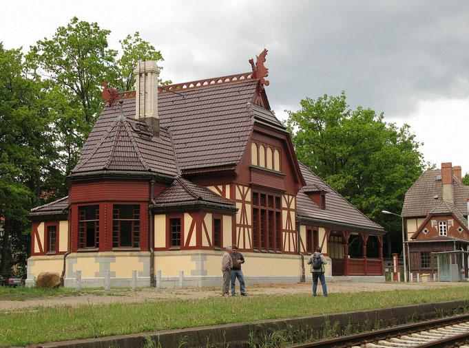 Historischer Kaiserbahnhof Joachimsthal