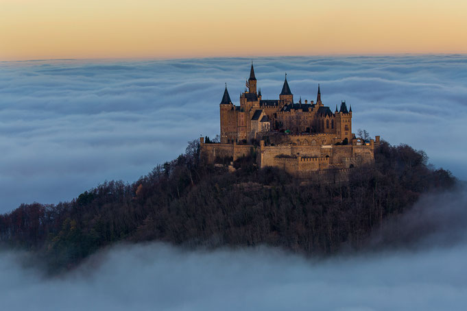 Nebel-Klassiker an der Burg Hohenzollern. ;-)