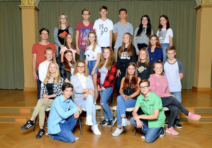 Klasse 9b / Klassenlehrer Herr Schinköthe
