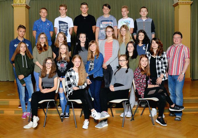 Klasse 9c / Klassenlehrer Herr Hendel